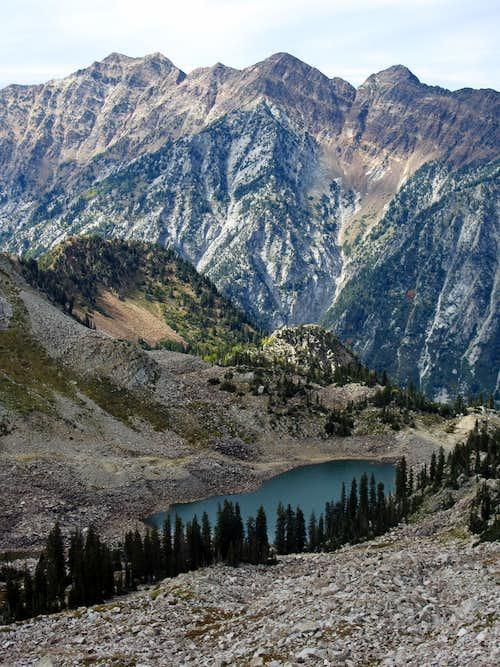 White Pine Lake below Cottonwood Ridge