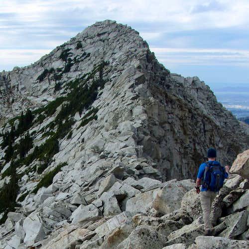 White Baldy east ridge finale