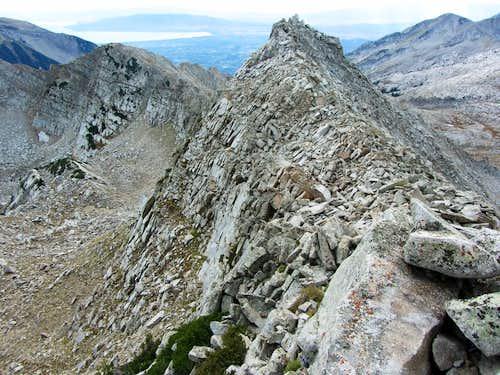 White Baldy west summit