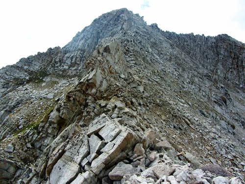 White Baldy east ridge