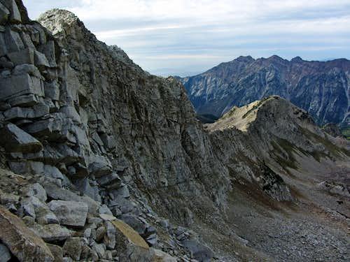 White Baldy north ridge