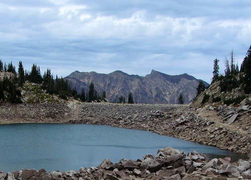 Cottonwood Ridge bethind White Pine Lake