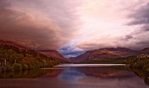 Moody Sky, Snowdonia