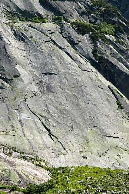 Granite. Aar valley. Summer...