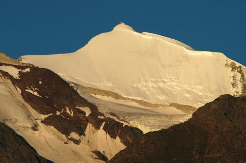 Bishorn NE face at sunrise....