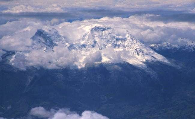 Huascaran from air