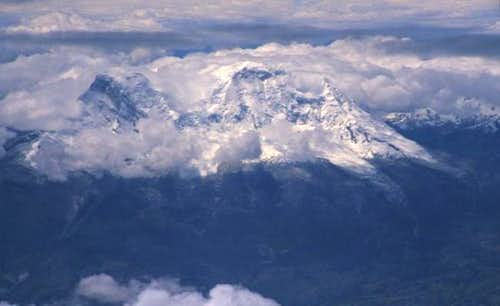 Huascaran from air