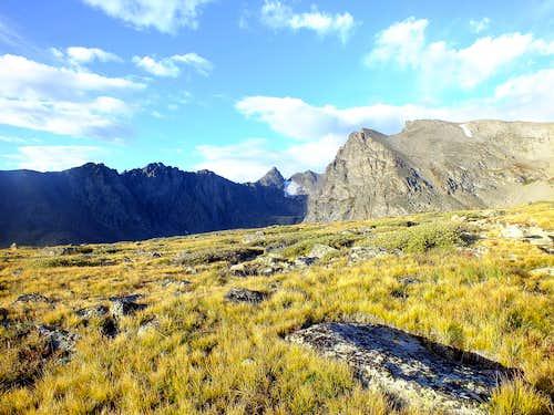 Shoshoni Peak from Pawnee Pass Trail