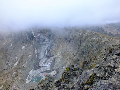 Bad Weather Near Shoshoni Peak Summit