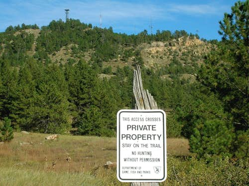 Hiking & Climbing on Private Property