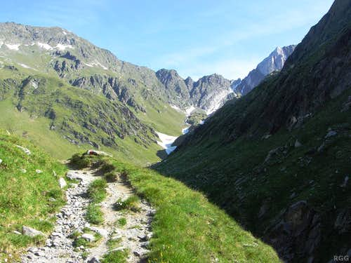 On the trail to the Johannesschartl