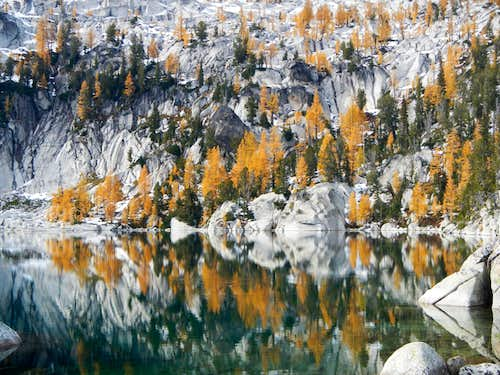 Lake Viviane Larches
