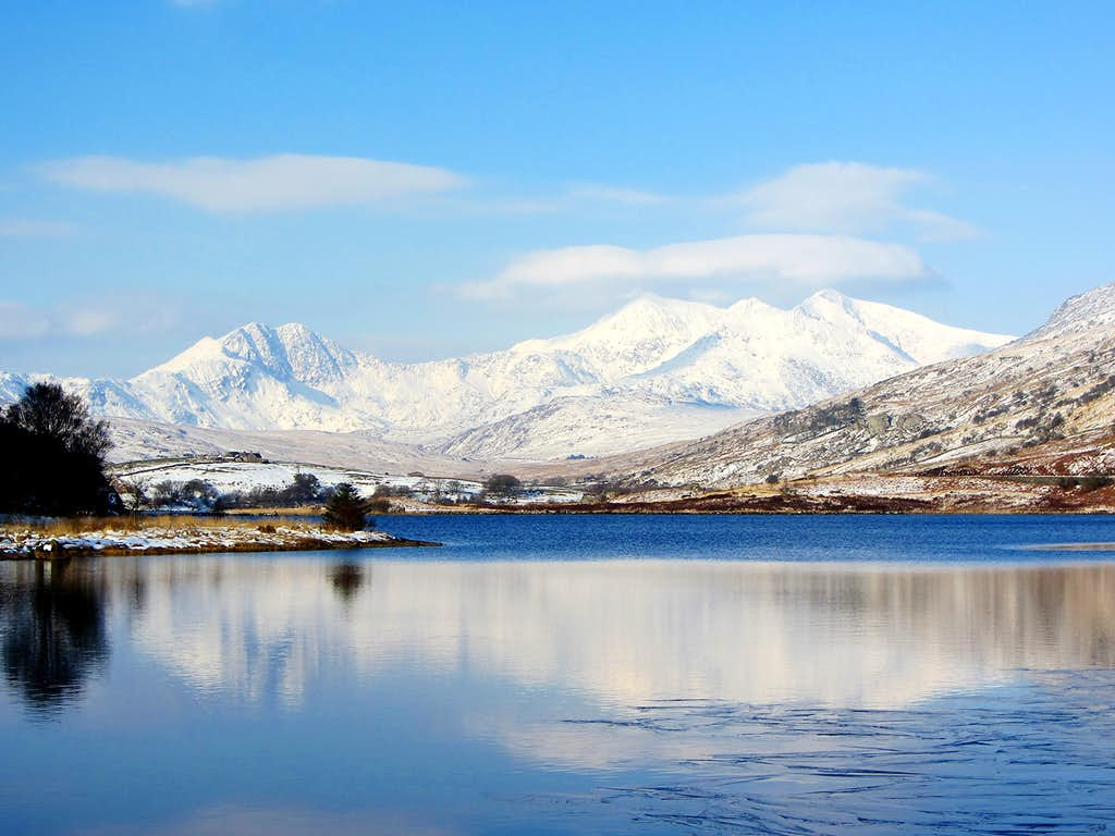 Snowdon over Llynnau Mymbyr