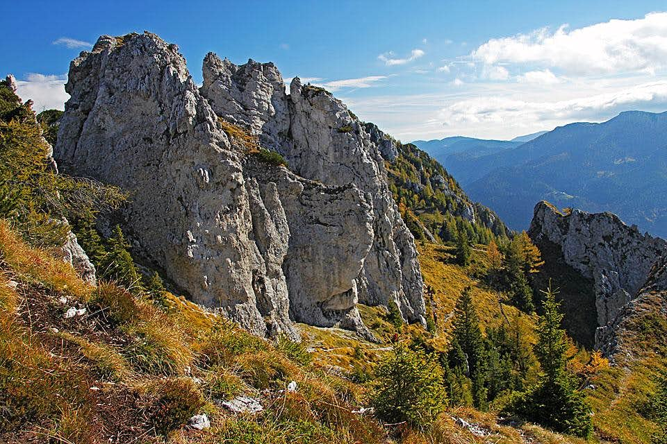 Along the ridge of Olseva