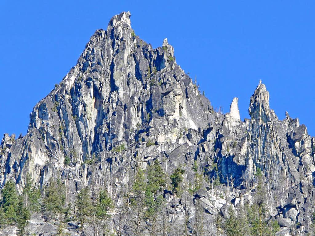 South Face of the Nightmare Needles