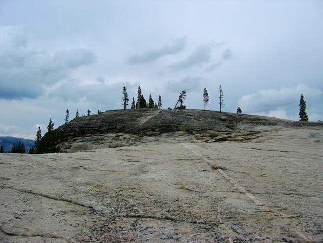 True summit of Pothole Dome-...