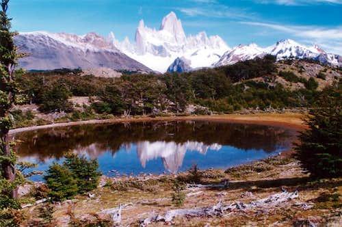 Cerro Fitzroy from Laguna de...