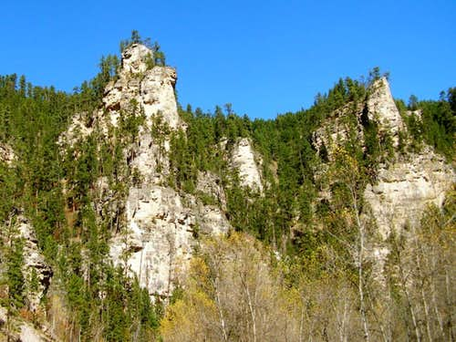 Spearfish Canyon Rock