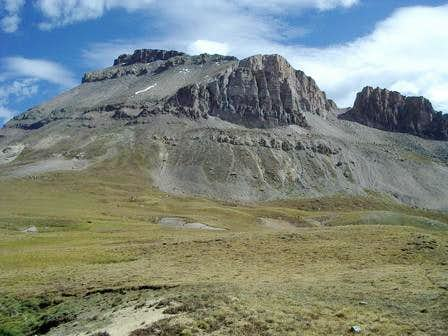 Uncompahgre from the basin...