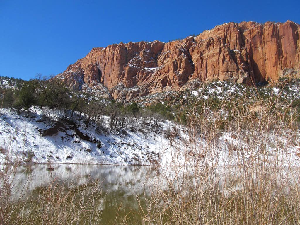 Reservoir at the Trailhead