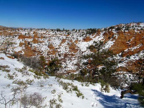 Canaan Mountain plateau