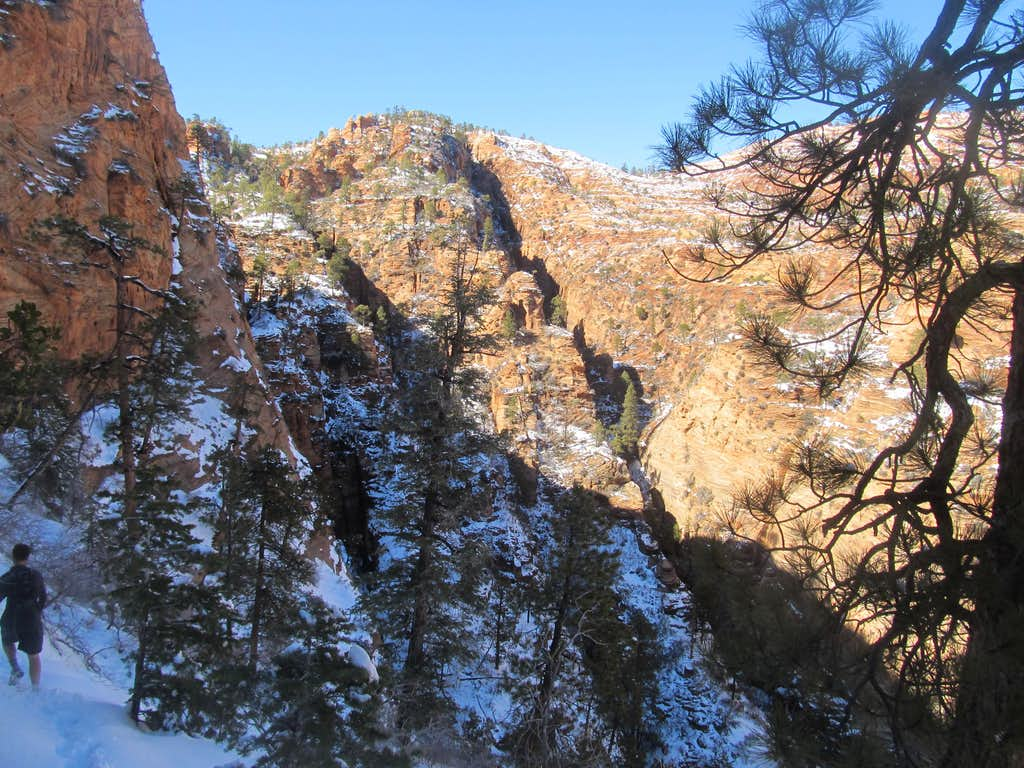 a look at a narrow canyon