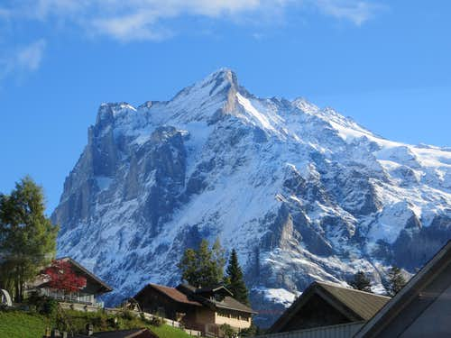 The Wetterhorn from Grindelwald