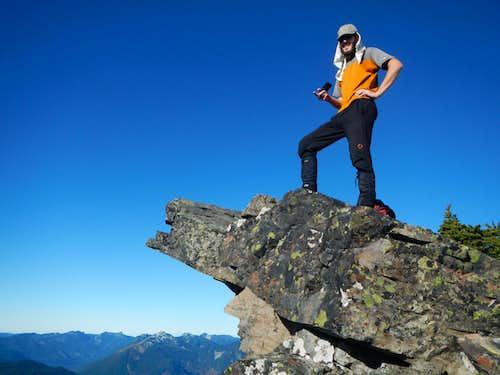 Rampart Ridge Summit