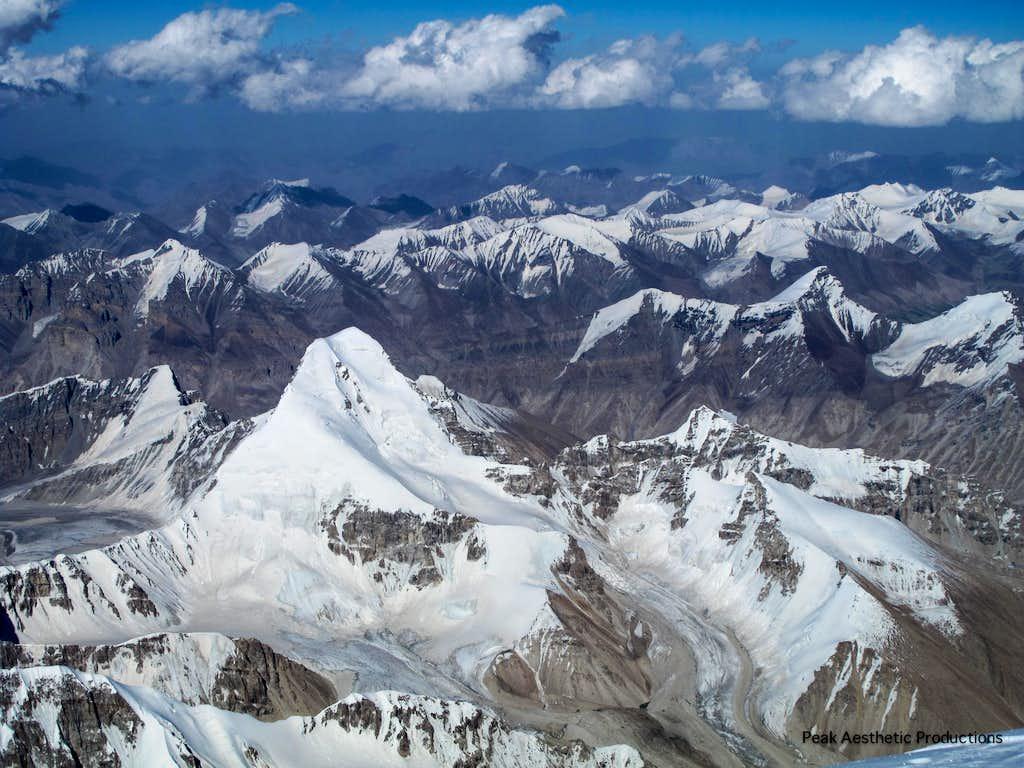 Muztagh Ata Summit Shoot Looking East