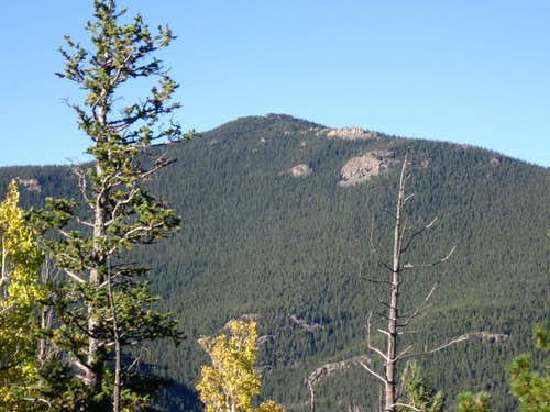 Chief Mountain from the summit