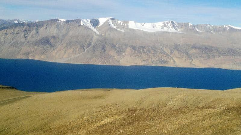 A view of the Mentok range