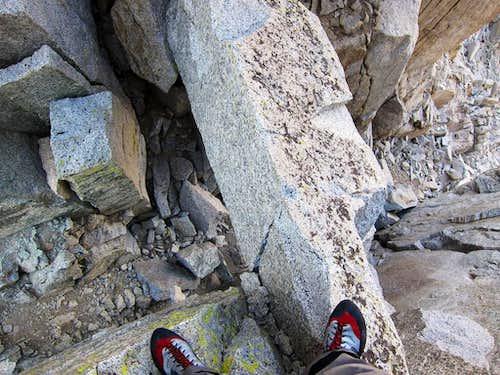 Step Across on Thunder Mountain