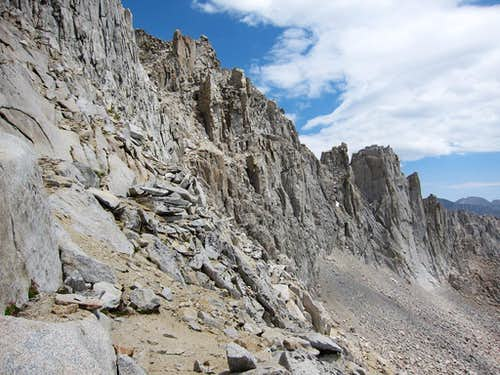 Southwest Face of Table Mountain