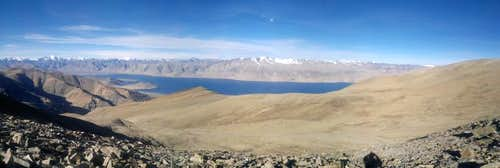Panoramic shot - Tso Moriri