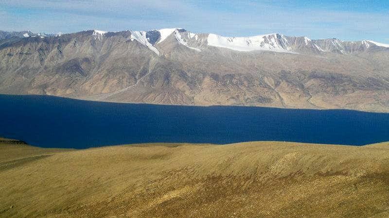 Mentok Range in the backdrop