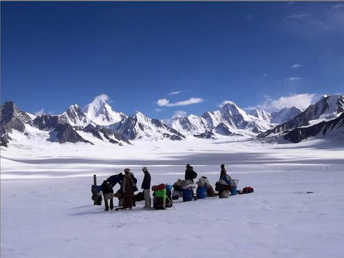 Snow Lake (~4800m), north Pakistan
