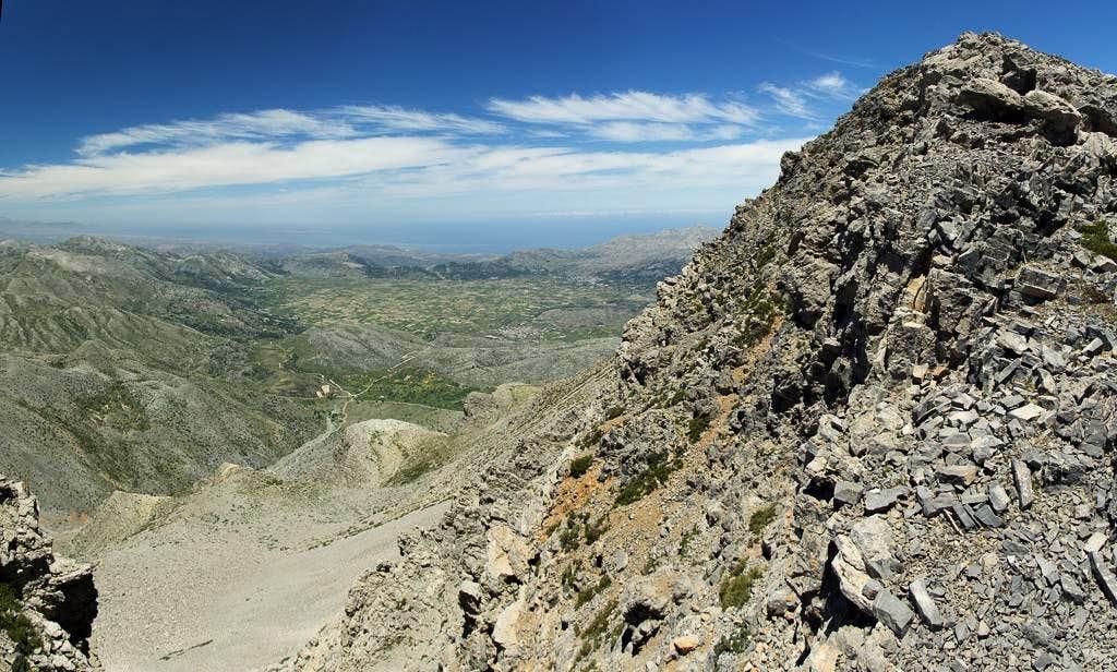 Dikti Summit and the Lasithi Plateau