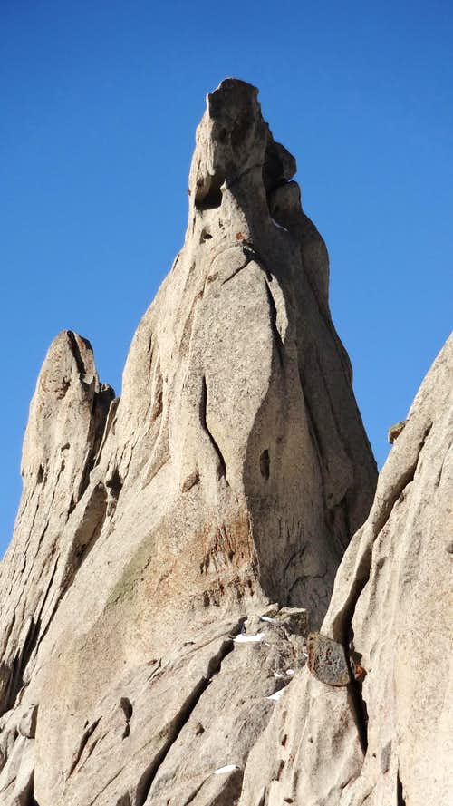 Nameless Pinnacle, Lone Peak Cirque area.