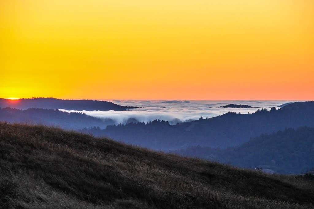 Sunset from Loma Alta