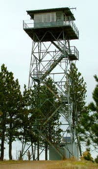 Touring a Black Hills Fire Tower