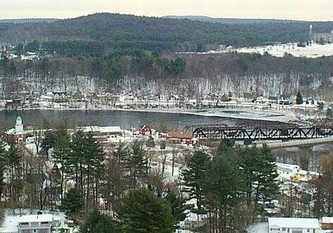 View from the top of Hooksett...