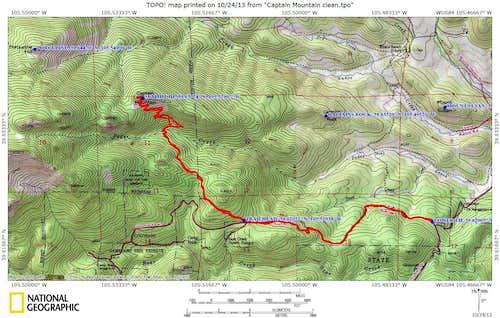 Trail topo file