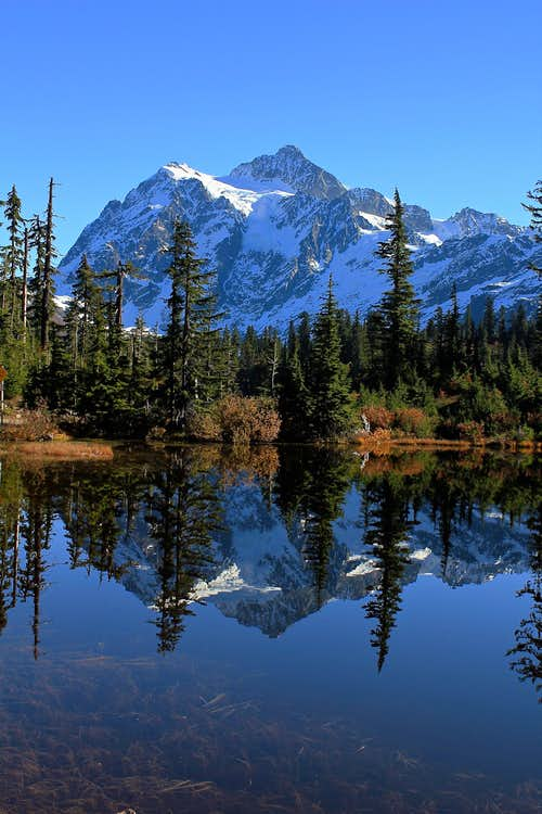 Mt. Shuksan in the Fall