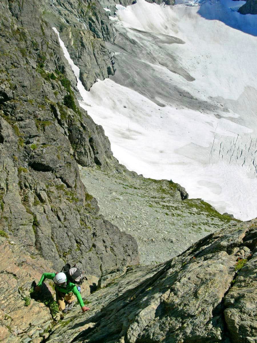 Climbing Off Route