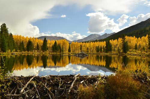 Fall in Sawatch Range