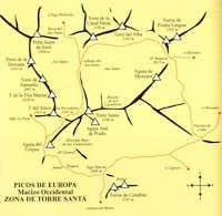 Pña Santa area map (Western...