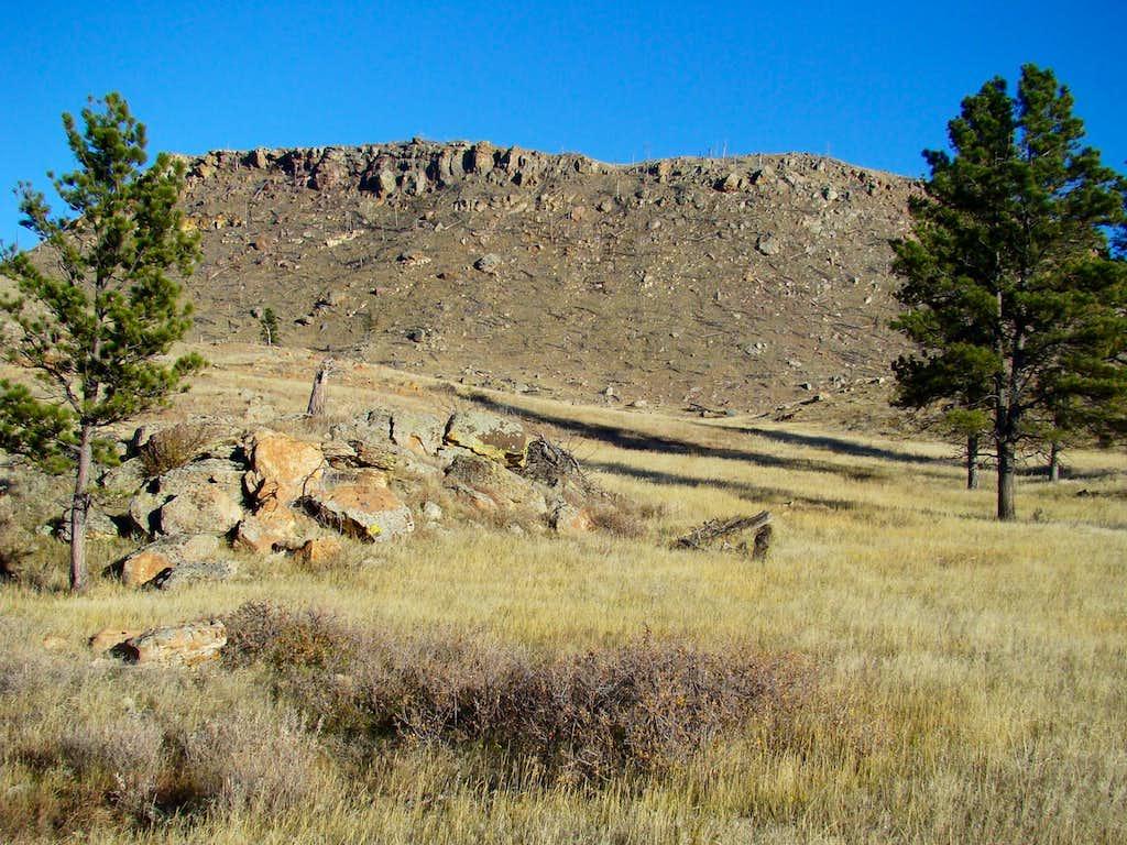 Parker Peak in the southern Black Hills