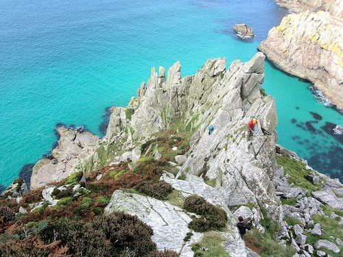 Bosigran Ridge - Cornwall