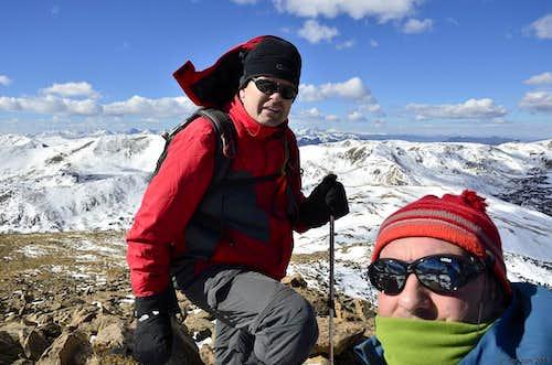 Summit shot.