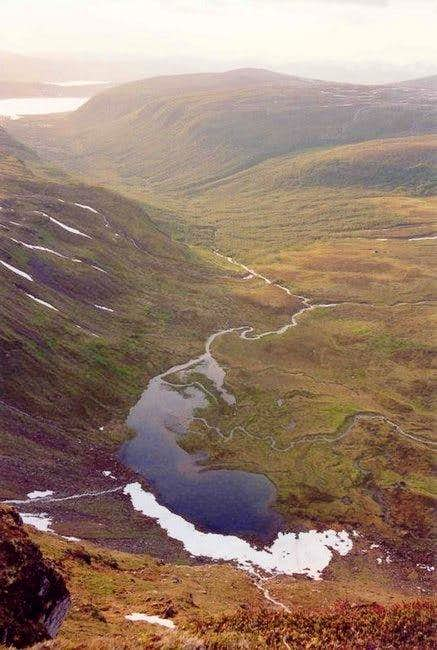 View of Tromsdalen from the...